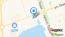TORIS на карте