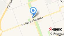 Аквариум на карте