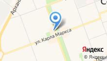 Магазин-киоск по продаже шаурмы на карте
