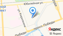 Детский сад №89, Умка на карте