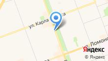 Каргополочка на карте