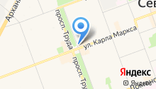 Интер-Ломбард на карте