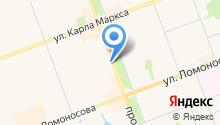 Витаника на карте