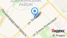 Зая на карте
