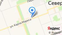 АЛВИЗ на карте
