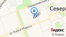 Детский сад №1, Золотой петушок на карте