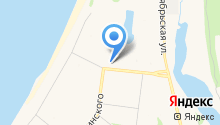 Автостоянка на проспекте Бутомы на карте