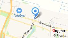 Шереметьевский проспект на карте