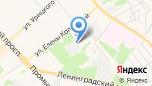 Ярхимпромторг на карте