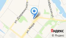 Банкомат, АКБ МосОблБанк на карте