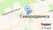 Инспекция Государственного строительного надзора Архангельской области на карте