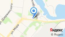 Ветеринарный кабинет на ул. Логинова на карте