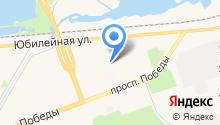 Архангельская Федерация стрельбы из лука на карте