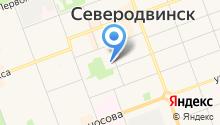 Архивный отдел Администрации Северодвинска на карте