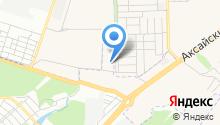 Дюйм Ростов на карте
