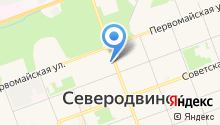 Стрижка на карте
