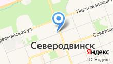 Банк Петрокоммерц на карте