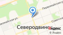 Кадр на карте