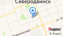 Архангельскоблгаз на карте