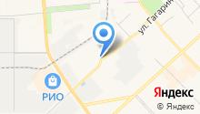 Мартен на карте