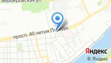 E1 на карте