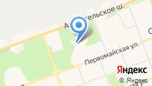Отдел полиции на особо важных и режимных объектах Архангельской области на карте