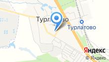 Турлатовский поселенческий дом культуры на карте