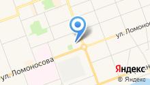 Витязь-Северодвинск на карте