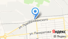 Green на карте