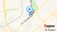 Банкомат, Банк Вологжанин, ЗАО на карте