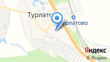 Турлатовский детский сад на карте