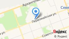 Коляски29 на карте