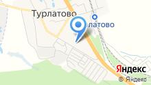 Турлатовская основная общеобразовательная школа на карте