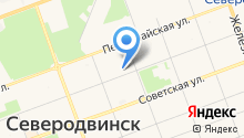 Архангельская прокуратура по надзору за исполнением законов на особо режимных объектах на карте