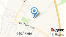 Рязанская автотранспортная колонна на карте