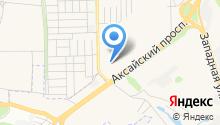 Ростовская таможня на карте