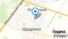 Щедринская библиотека на карте
