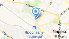 Park Inn от Radisson Ярославль на карте