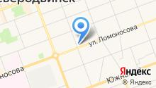 Ломоносов на карте