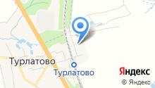 Архангел на карте