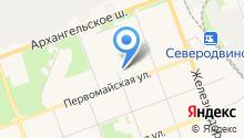 Автоблеск на карте