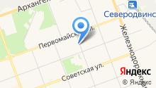 ЖКК №1, МУП на карте