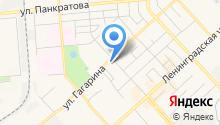 Магазин автозапчастей для УАЗ, ГАЗ на карте