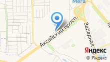 Гедон-Аксай на карте