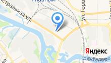 SsangYong Центр Ярославль на карте