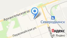 Куртяево на карте
