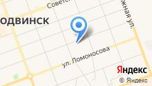 Аварийно-спасательная служба Северодвинска на карте