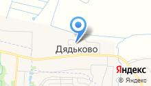 Дядьковский детский сад на карте