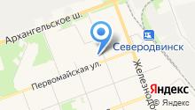 Беломорский на карте