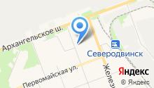 Балтлайнер-Архангельск на карте